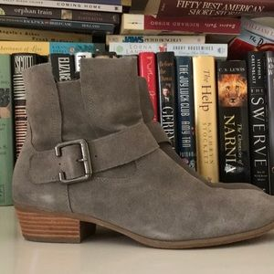 14th and Union Grey Suede Booties